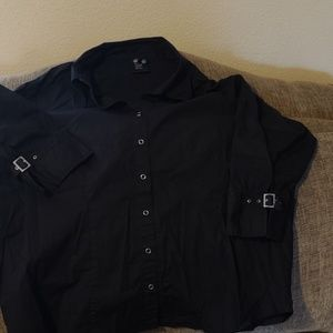 Anxiety button up shirt size 3x